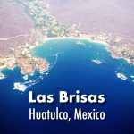 Aerial view of Huatulco, Mexico